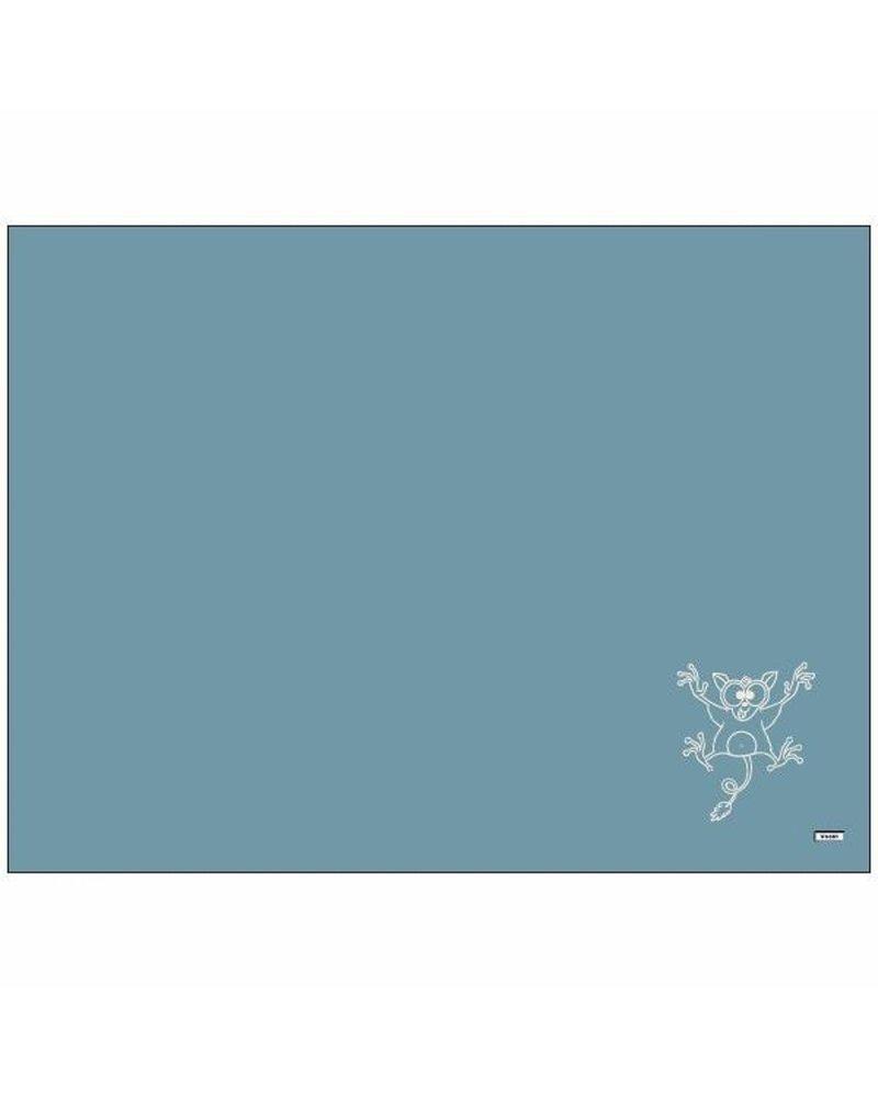 Woody Plaid ijsblauw thema nachtdier
