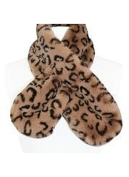 Miracles Faux fur scarf Atlanta animal print