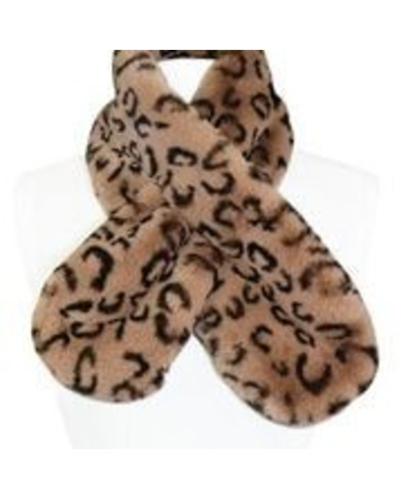 Miracles Faux fur scarf Atlanta animal print