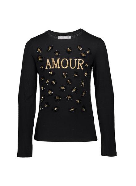 "Geisha T-shirt LS ""amour"""