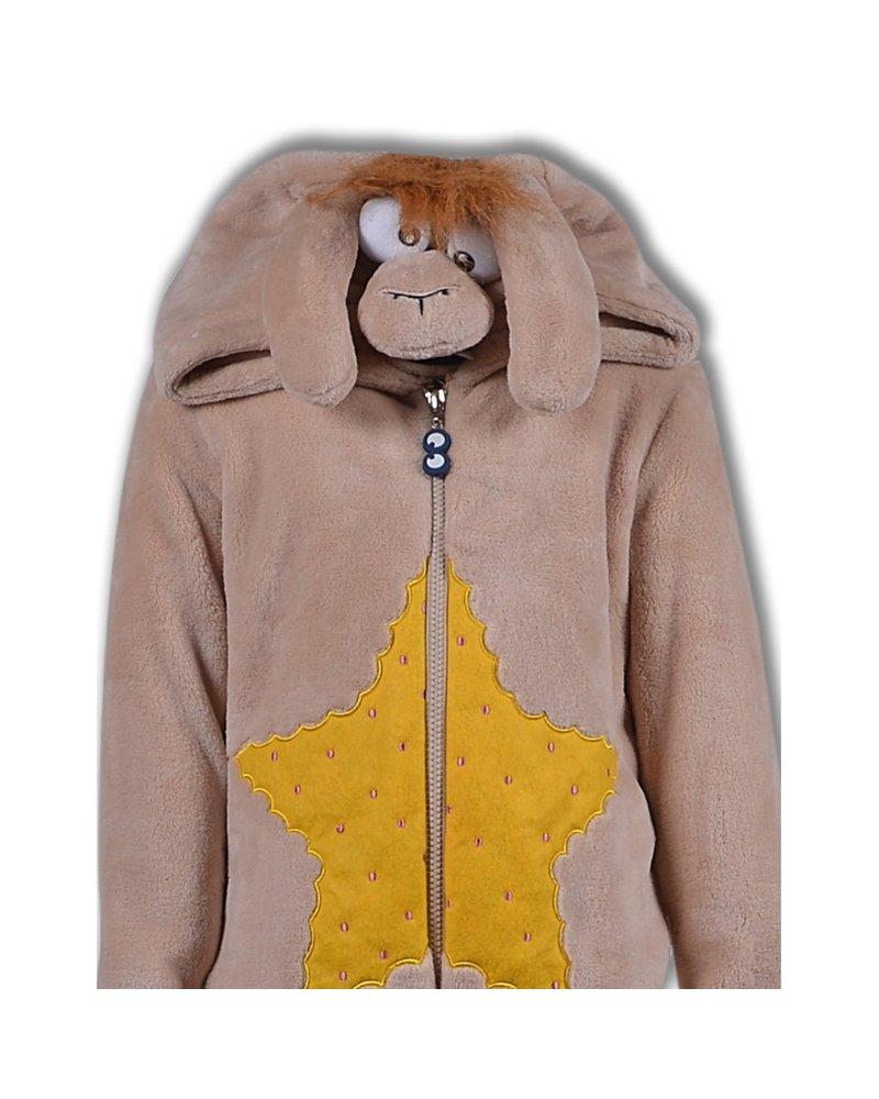 Woody Unisex onesie, beige alpaca