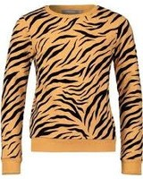 Geisha Sweat bi-color tiger print