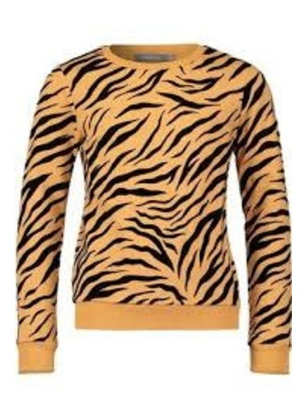 Geisha Sweat bi-color tiger print