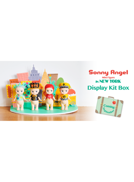 Sonny Angel Sonny Angel in New York display kit box