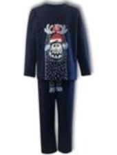 Woody Unisex pyjama blauw grote yeti