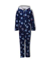 Woody Unisex onesie donkerblauw all-overprint Yeti