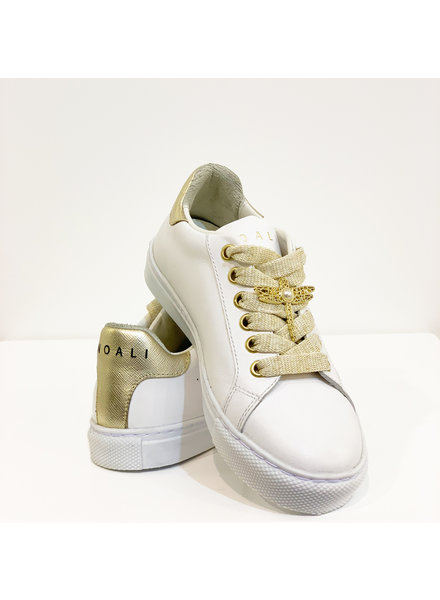 Noalie Sneaker wit/ goud