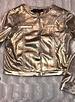 Noalie Goud zacht lederen jasje AT-ACUIR S20 Gold
