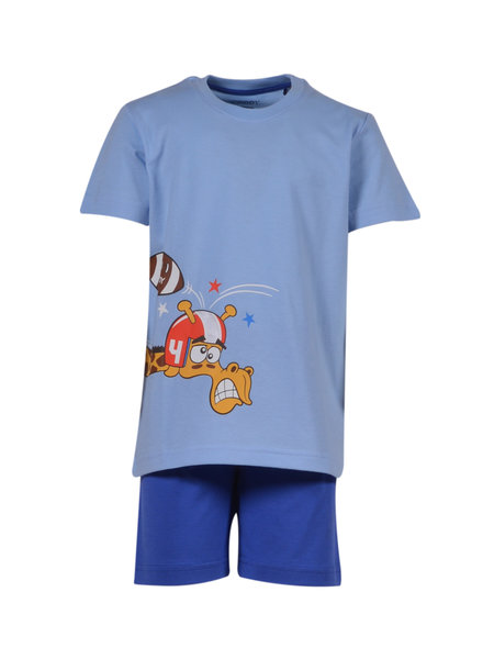 Woody Boys-men pyjamas, light blue