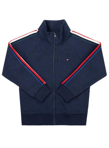 Tommy Hilfiger Stripe interlock zip
