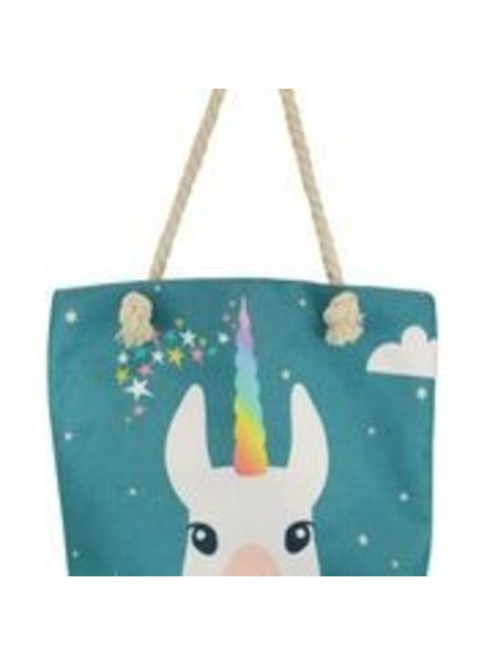 Miracles Beachbag unicorn