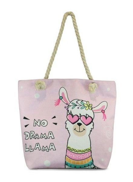 Miracles Beachbag Lama