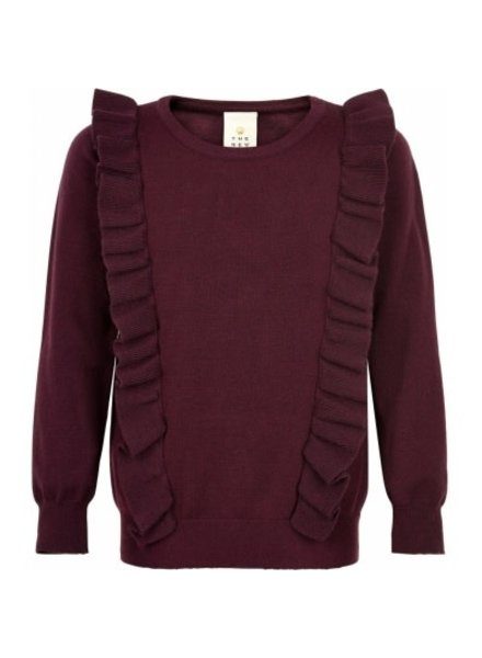 The New Noelle frill sweater