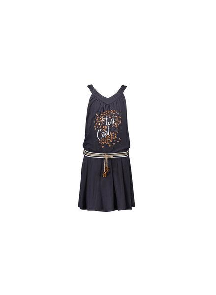 NoNo Memea sleeveless dress, tres cool print, plissee skirt