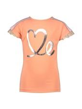 NoNo Kiss Twistable ss shirt love me-you print