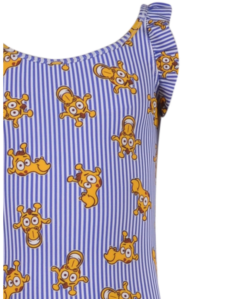Woody Badpak gestreept giraf