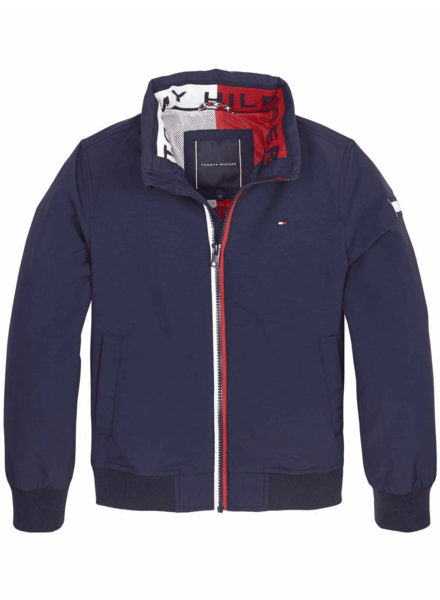Tommy Hilfiger Essential jacket blauw