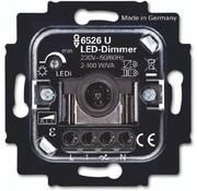 Busch-Jaeger tastdimmer universeel LED 2-100 Watt (6526 U)