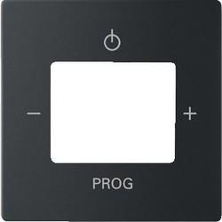 Busch-Jaeger centraalplaat voor radio zwart (mat) (8252-885)