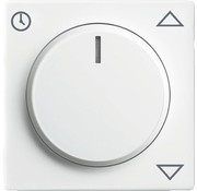 Busch-Jaeger draaiknop jaloeziecomfortsokkel Future Linear studiowit (6436-84)