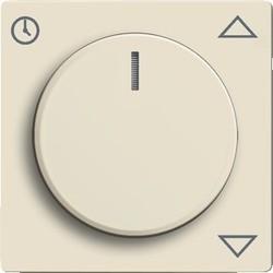 Busch-Jaeger centrpl+knop 6436-82 sivoor