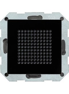 GIRA luidspreker inbouwradio RDS Systeem 55 zwart glas (228205)