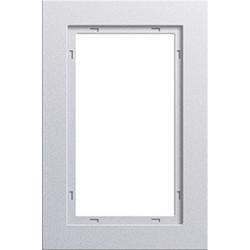GIRA afdekraam 1.5-voudig E2 aluminium mat (100125)