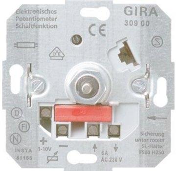 GIRA potentiometer met schakelaar 1-10 Volt (030900)