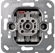 GIRA drukcontact maakcontact 1-polig met apart meldcontact (015200)
