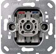 GIRA drukcontact maakcontact 1-polig met nulklem (015000)