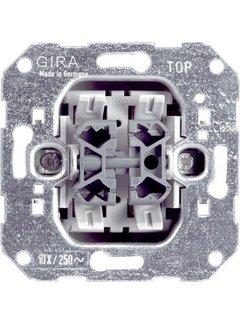 GIRA wissel-wisselschakelaar (010800)
