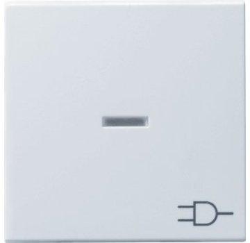 GIRA schakelwip controlevenster symbool wandcontactdoos Systeem 55 wit mat (020927)