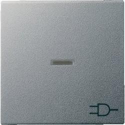GIRA schakelwip controlevenster symbool wandcontactdoos Systeem 55 aluminium mat (020926)