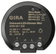 GIRA universele mini LED-dimmer 3-50 Watt (244000)