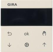 GIRA jaloezie- en schakelklok knop met display Systeem 3000 Systeem 55 wit creme (536601)