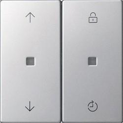 GIRA memory bedieningselement Systeem 3000 Systeem 55 edelstaal (5363600)