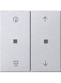 GIRA memory bedieningselement Systeem 3000 Systeem 55 aluminium mat (536326)