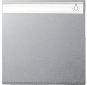 GIRA schakelwip tekstkader Systeem 55 aluminium mat (029926)