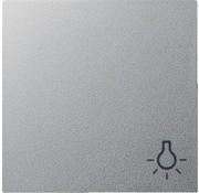 GIRA schakelwip symbool licht Systeem 55 aluminium mat (028526)
