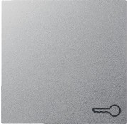 GIRA schakelwip symbool deur Systeem 55 aluminium mat (028726)