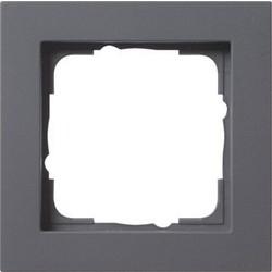 GIRA afdekraam 1-voudig E2 antraciet mat (021123)