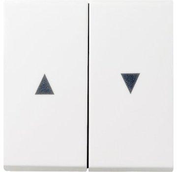 GIRA wip jaloezieschakelaar 2-voudig Systeem 55 wit glans (029403)