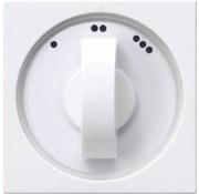 GIRA draaiknop driestandenschakelaar Systeem 55 wit glans (066503)