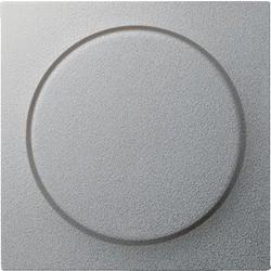 GIRA dimmerknop draaidimmer Systeem 55 aluminium mat (065026)