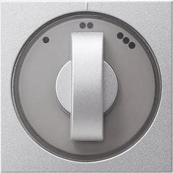 GIRA draaiknop driestandenschakelaar Systeem 55 aluminium mat (066526)