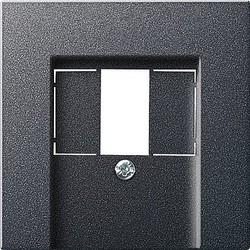 GIRA centraalplaat USB Systeem 55 antraciet mat (027628)