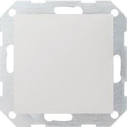 GIRA blinddeksel incl. draagframe Systeem 55 wit mat (026827)