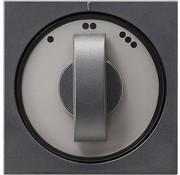 GIRA draaiknop driestandenschakelaar Systeem 55 antraciet mat (066528)