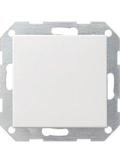 GIRA drukvlakschakelaar kruisschakelaar Systeem 55 wit glans (012703)