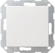 GIRA drukvlakschakelaar wisselschakelaar Systeem 55 wit glans (012603)
